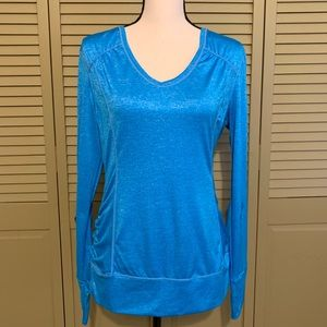 Workout Top Turquoise Like New